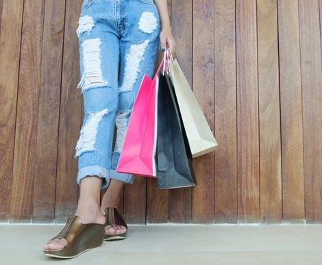 Diwali shopping for travel