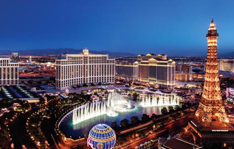 Las Vegas | best winter vacations with a snow